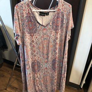 T-shirt dress 3x